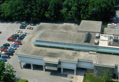 Aerial View of Waterloo Public Library