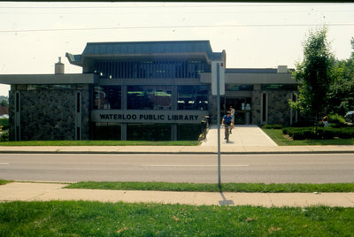 Waterloo Public Library Albert Street Entrance