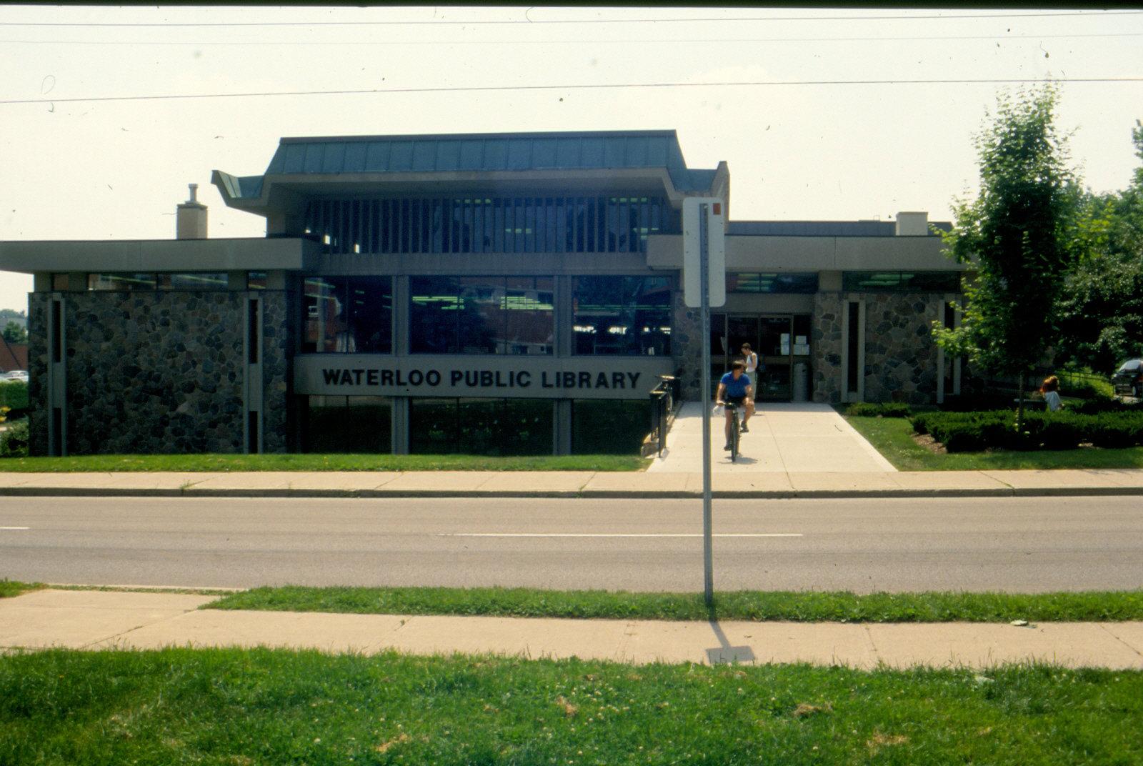 Waterloo Public Library Albert Street Entrance