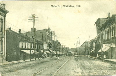 Main Street (King Street), Waterloo, Ontario