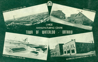 Manufacturing in Waterloo Postcard