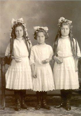 "Maria Ida ""Loretta"" Dietrich, First Communion"