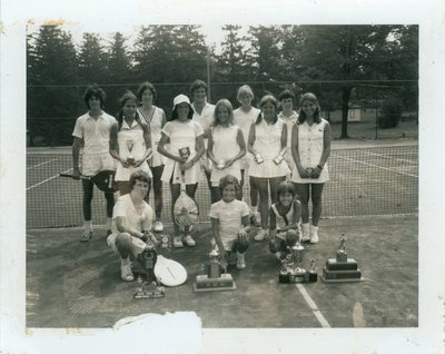 Waterloo Tennis Club 1973 Junior Champions