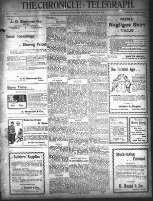 The Chronicle Telegraph (190101), 8 Aug 1901