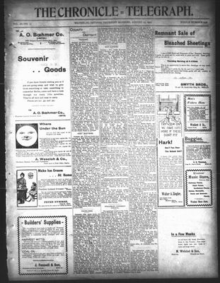 The Chronicle Telegraph (190101), 15 Aug 1901