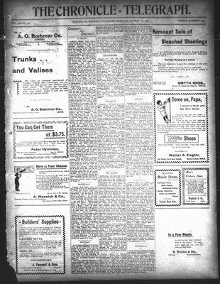 The Chronicle Telegraph (190101), 22 Aug 1901