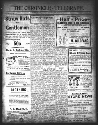 The Chronicle Telegraph (190101), 16 Jul 1903