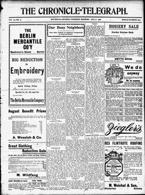 The Chronicle Telegraph (190101), 3 Aug 1905