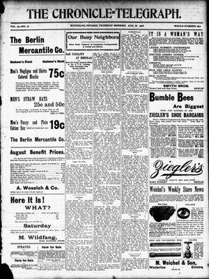 The Chronicle Telegraph (190101), 10 Aug 1905