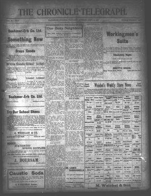 The Chronicle Telegraph (190101), 25 Apr 1907