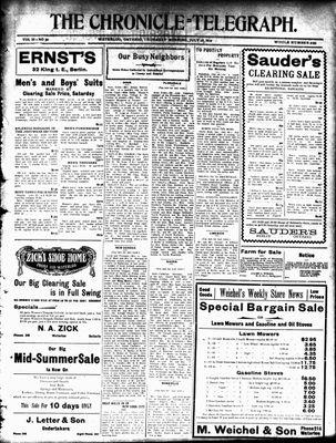 The Chronicle Telegraph (190101), 21 Jul 1910
