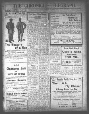 The Chronicle Telegraph (190101), 25 Jul 1912