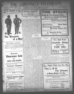 The Chronicle Telegraph (190101), 1 Aug 1912