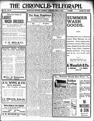 The Chronicle Telegraph (190101), 19 Jun 1913