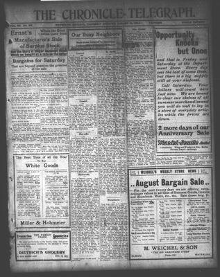 The Chronicle Telegraph (190101), 13 Aug 1914
