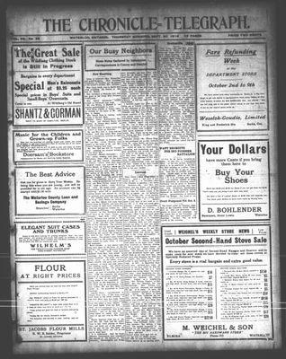 The Chronicle Telegraph (190101), 30 Sep 1915