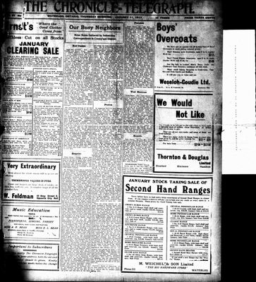 The Chronicle Telegraph (190101), 11 Jan 1917