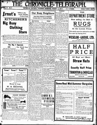 The Chronicle Telegraph (190101), 16 Aug 1917
