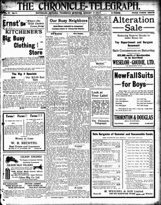 The Chronicle Telegraph (190101), 23 Aug 1917