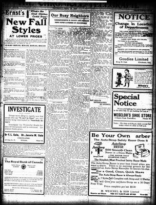 The Chronicle Telegraph (190101), 25 Sep 1919