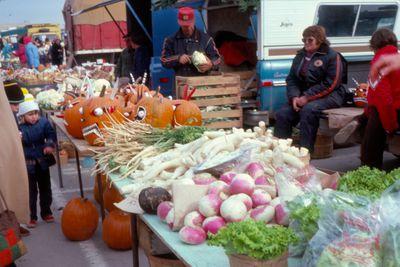 Waterloo County Farmers' Market, Fall Produce
