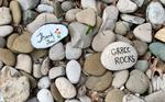 Painted Rocks at the Grand River Regional Cancer Centre, Kitchener