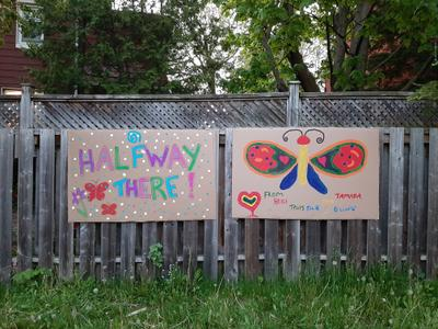 Halfway There Butterfly Sign, Waterloo