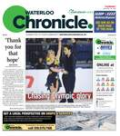Waterloo Chronicle, 18 Jan 2018