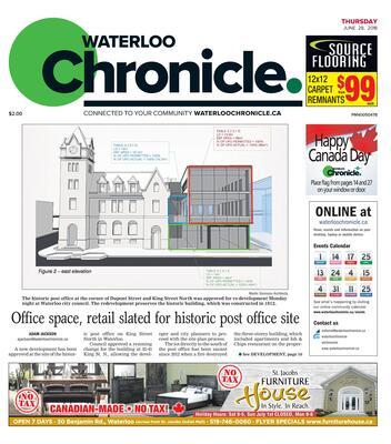 Waterloo Chronicle, 28 Jun 2018