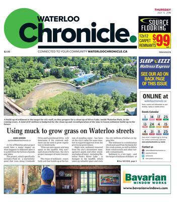 Waterloo Chronicle, 5 Jul 2018