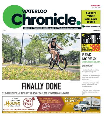 Waterloo Chronicle, 26 Jul 2018