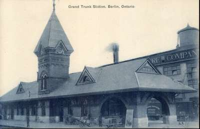 Grand Trunk Station, Kitchener, Ontario