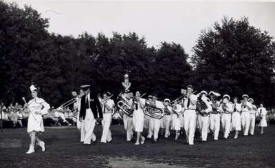 Marching Band and Majorettes