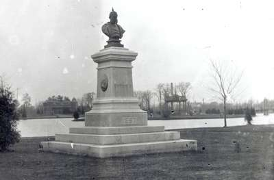 Bust of Kaiser Wilhelm I, Victorial Park, Kitchener, Ontario