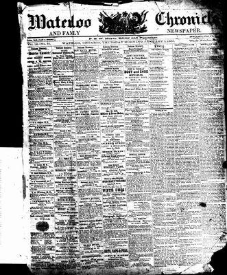 Waterloo Chronicle (Waterloo, On1868), 2 Jan 1868