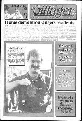 Humber Valley Villager (1987), 3 Mar 1988