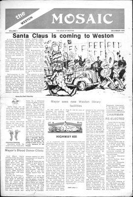 Weston Mosaic (1980), 1 Dec 1979