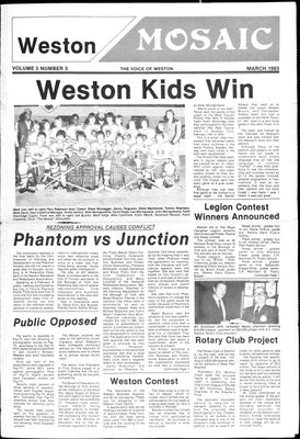 Weston Mosaic (1980), 1 Mar 1983