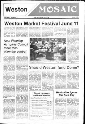 Weston Mosaic (1980), 1 Jun 1983