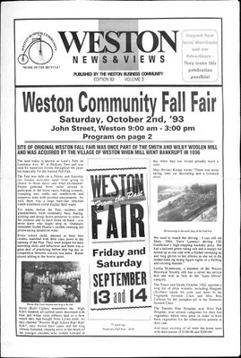 Weston News & Views (199304), 2 Sep 1993