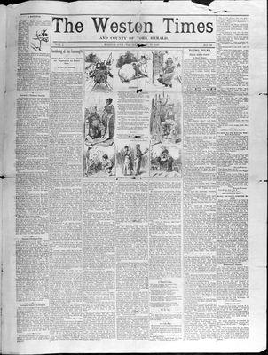 Weston Times (1966), 25 Dec 1890
