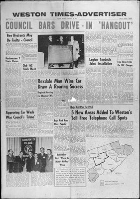 Weston Times Advertiser (1962), 24 Jan 1963