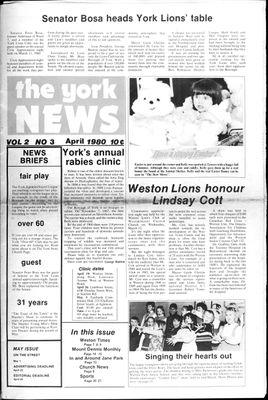 York News (1980), 1 Apr 1980
