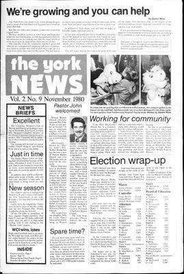 York News (1980), 1 Nov 1980
