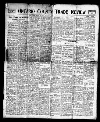 Ontario County Trade Review, 1 Apr 1901