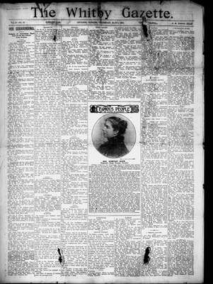 Whitby Gazette, 4 May 1905