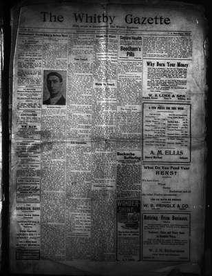 Whitby Gazette, 9 Feb 1911