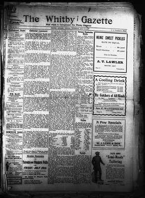Whitby Gazette, 27 Jul 1911