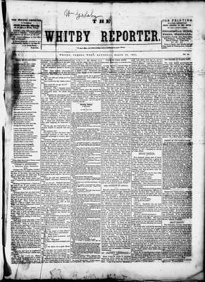 Whitby Reporter, 29 Mar 1851
