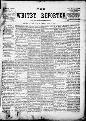 Whitby Reporter, 3 May 1851